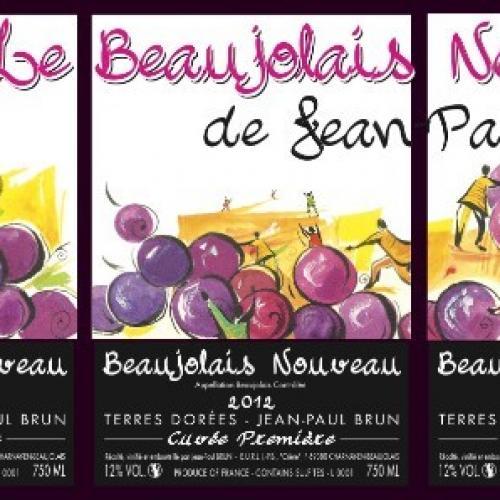 LE BEAUJOLAIS NOUVEAU de Jean Paul BRUN est disponible chez Gilles Saveurs.