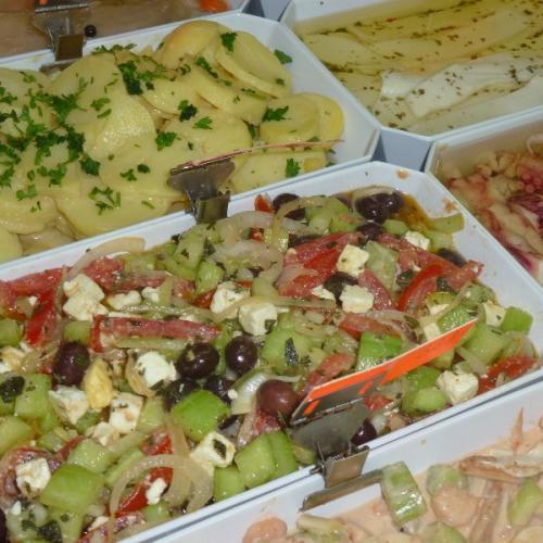 Spéciales salades fraîcheurs de l'été Chez Gilles.Saveurs Traiteur à Issy les Moulineaux